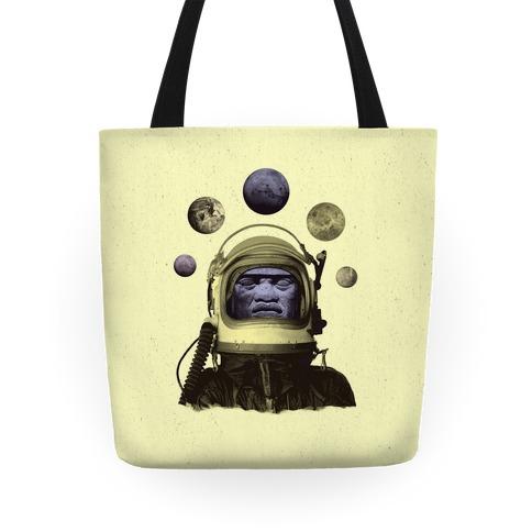 Space Olmec Tote