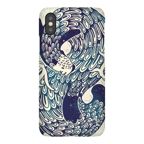 Swirling Wave Otter Phone Case