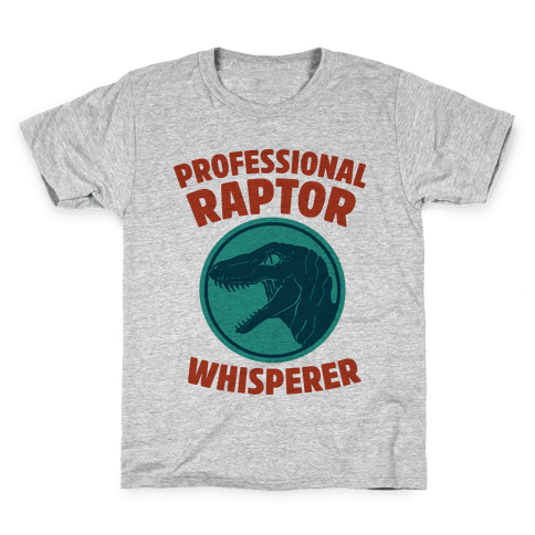 Professional Raptor Whisperer Kids T-Shirt