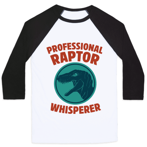 Professional Raptor Whisperer Baseball Tee