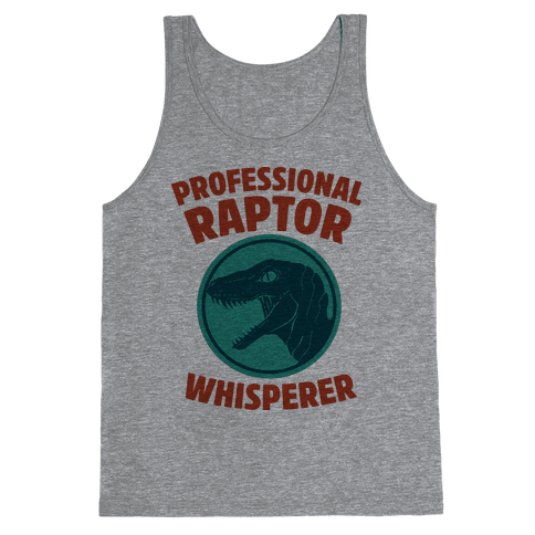 Professional Raptor Whisperer Tank Top