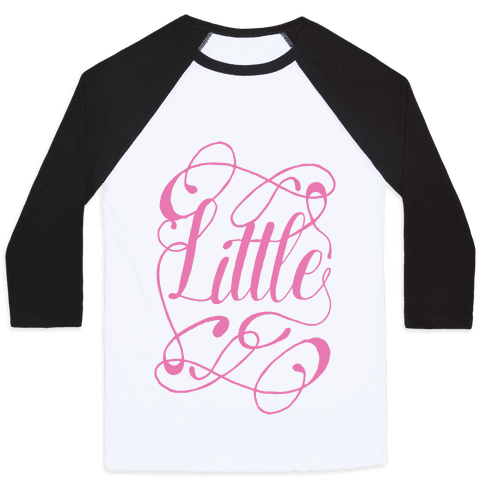 Little Monogram Baseball Tee