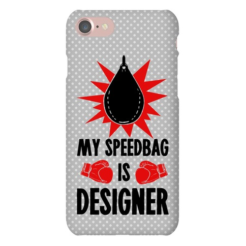 My Speedbag is Designer Phone Case