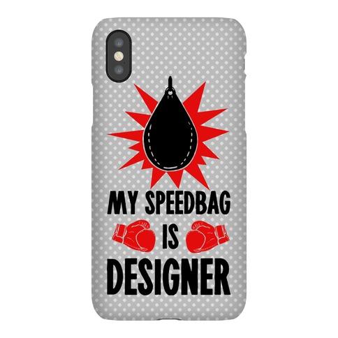 My Speedbag is Designer Phone Case
