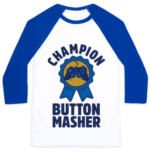 Champion Button Masher Baseball Tee