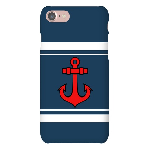 Anchors and Stripes Phone Case