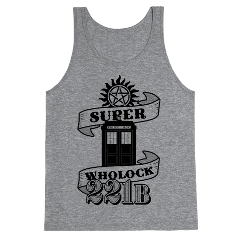 Superwholock Icons Tank Top