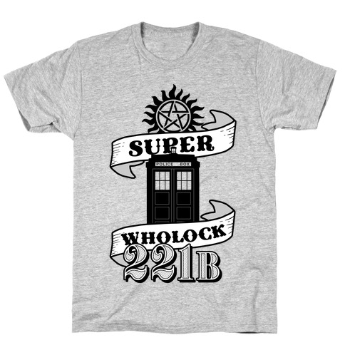 Superwholock Icons Mens T-Shirt