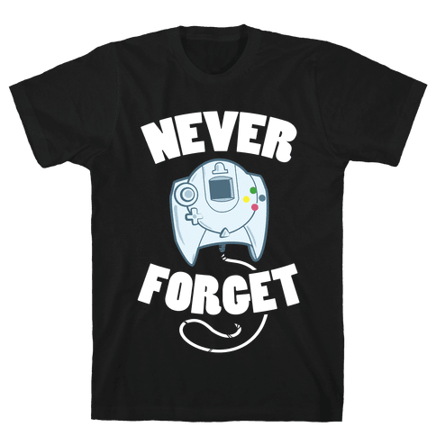 Dreamcast: Never Forget Mens T-Shirt