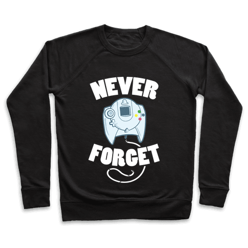 Dreamcast: Never Forget Pullover
