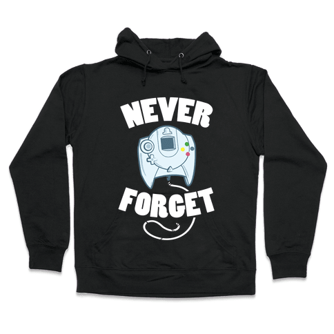 Dreamcast: Never Forget Hooded Sweatshirt