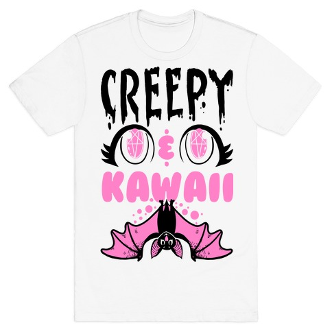 Creepy and Kawaii Mens T-Shirt