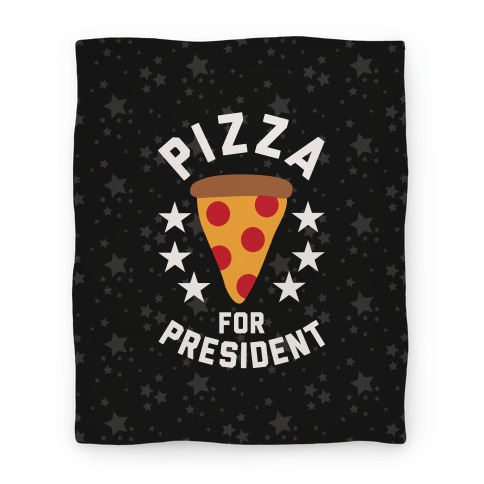 Pizza For President Blanket