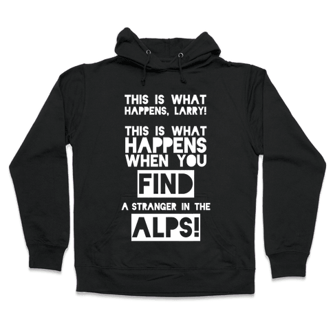 A Stranger In The Alps Hooded Sweatshirt