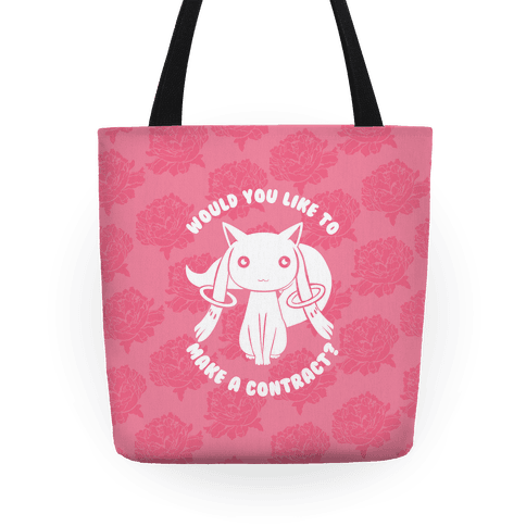 Would You Like To Make A Contract? Tote