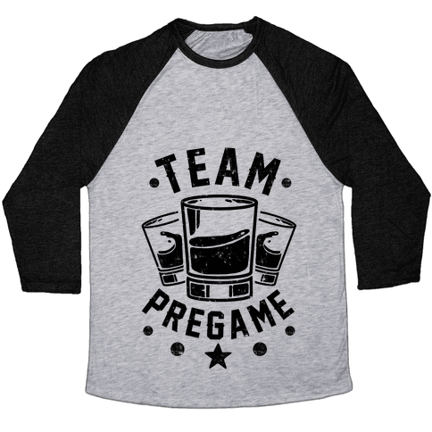 Team Pregame Baseball Tee