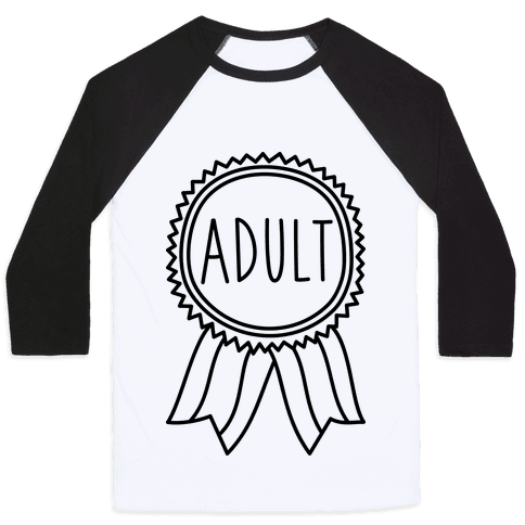 Adult Award Baseball Tee