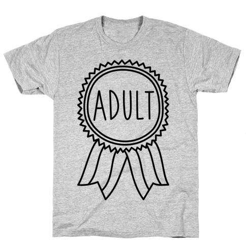 Adult Award Mens T-Shirt