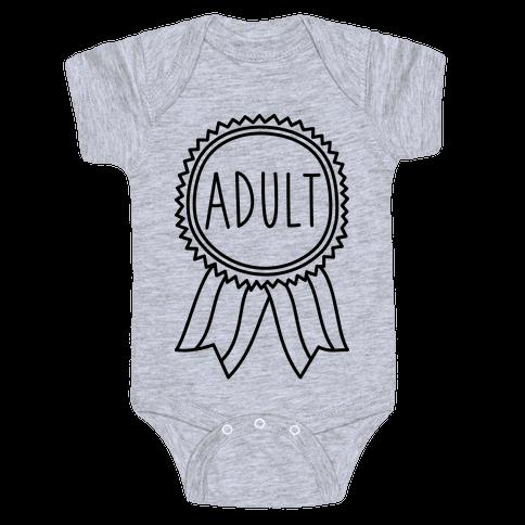 Adult Award Baby Onesy