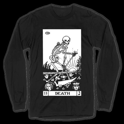 Death Tarot Long Sleeve T-Shirt