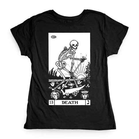 Death Tarot Womens T-Shirt