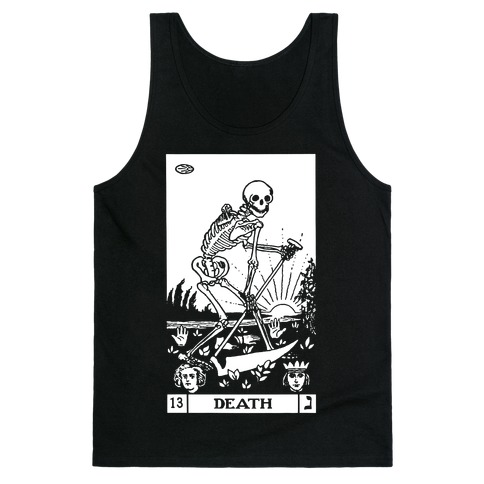 Death Tarot Tank Top