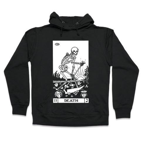 Death Tarot Hooded Sweatshirt