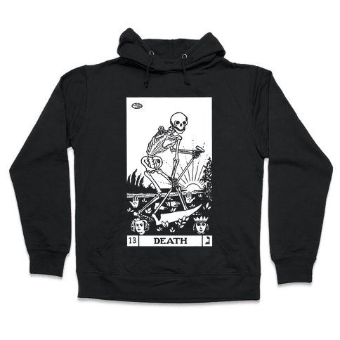 Death Tarot Hooded Sweatshirt