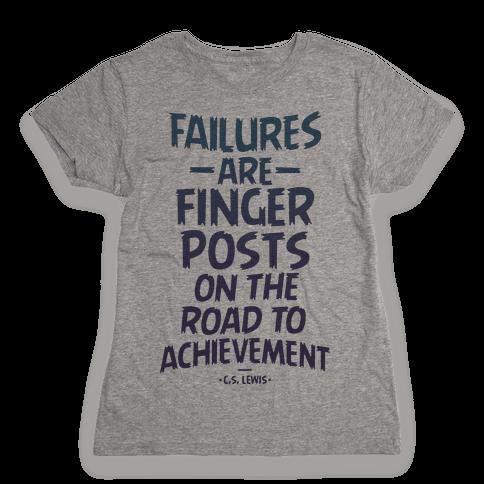 """""""Achievement"""" C.S. Lewis Womens T-Shirt"""