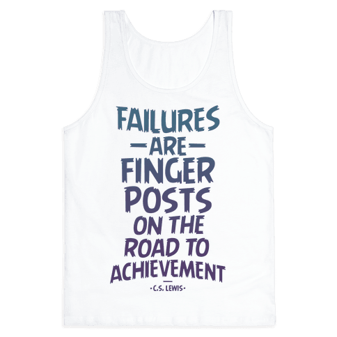 """Achievement"" C.S. Lewis Tank Top"