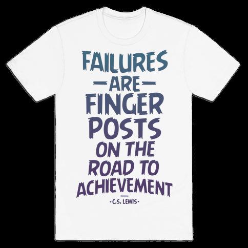 """""""Achievement"""" C.S. Lewis Mens T-Shirt"""