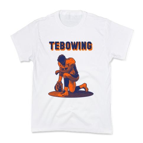 Tebowing Kids T-Shirt