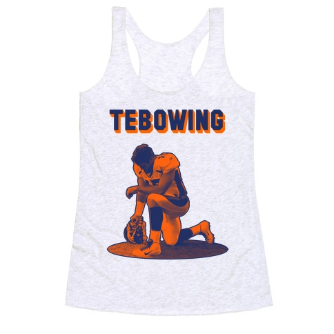 Tebowing Racerback Tank Top