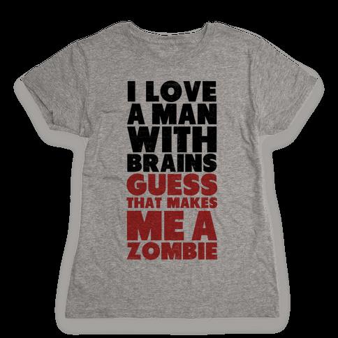 Brains Womens T-Shirt