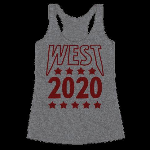 West 2020 Racerback Tank Top