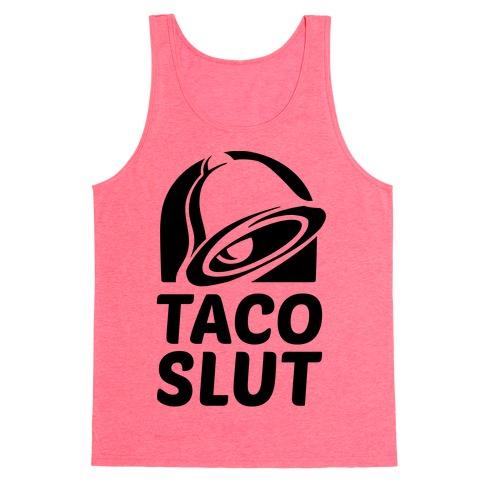 Taco Slut Logo Tank Top