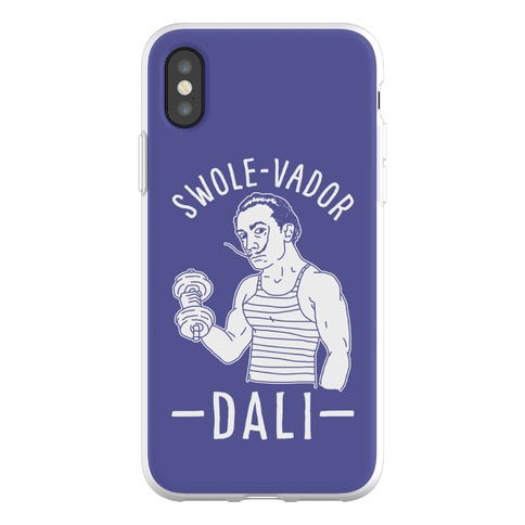 Swole-vador Dali Phone Flexi-Case