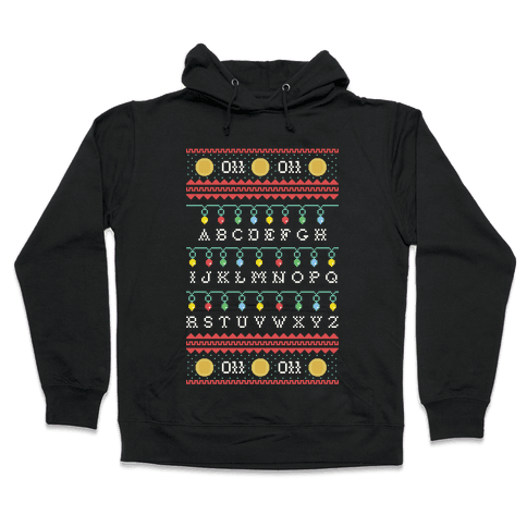 Eleven Ugly Sweater Hooded Sweatshirt