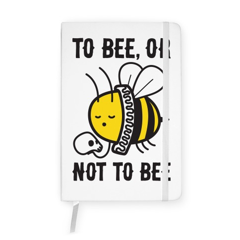 To Bee, Or Not To Bee Shakespeare Bee Notebook