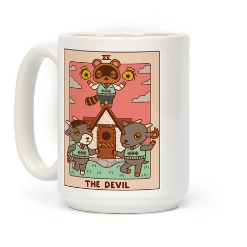 The Devil Tom Nook Coffee Mug