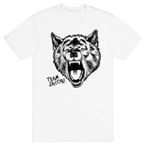 Werewolves Like Jacob Mens T-Shirt