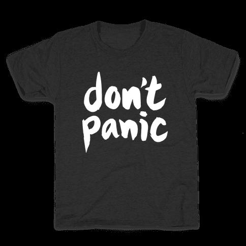 Don't Panic Kids T-Shirt