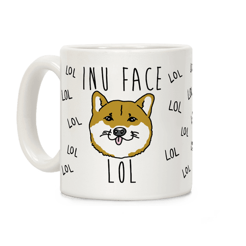 Inu Face Lol Coffee Mug