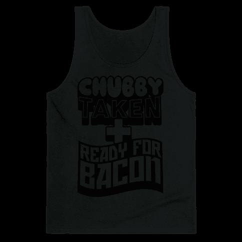 Ready for Bacon (Black) Tank Top
