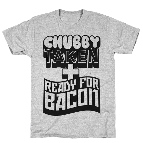 Ready for Bacon (Black) Mens T-Shirt
