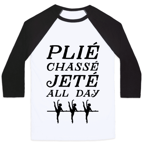 Pli Chass Jet All Day Baseball Tee