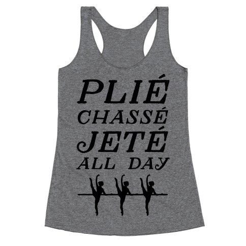 Pli Chass Jet All Day Racerback Tank Top