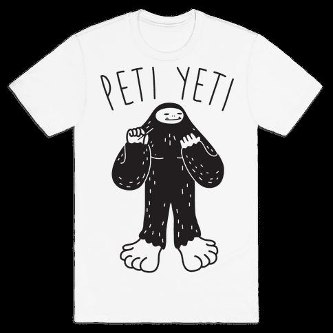Peti Yeti Mens T-Shirt