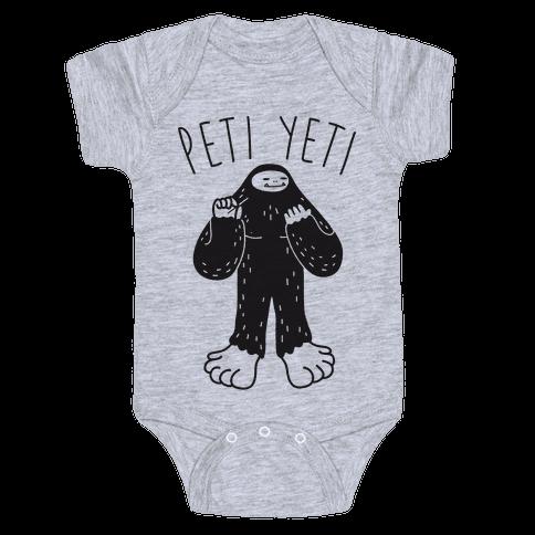 Peti Yeti Baby Onesy