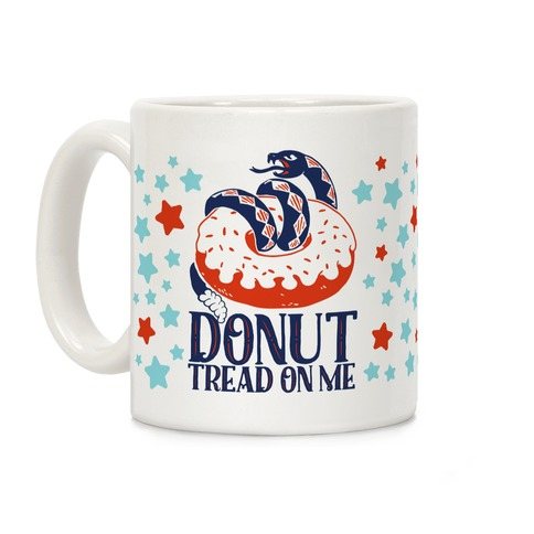 Donut Tread on Me Coffee Mug